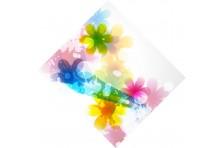 Бандана дизайнерская. Цветы-32