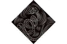 Бандана дизайнерская «Змея»