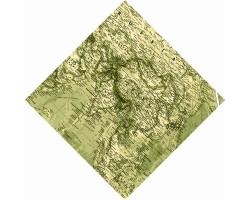 """Бандана """"Карта Азии"""""""