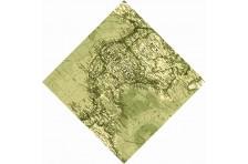 """Бандана """"Карта Северной Америки"""""""