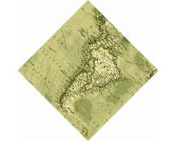 "Бандана ""Карта Южной Америки"""