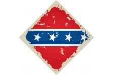 Бандана флаг конфедерации США. Вариант-2