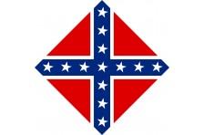 Бандана флаг конфедерации США. Вариант-1