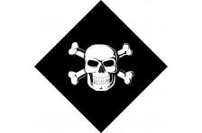 Бандана пиратская. Вариант-01