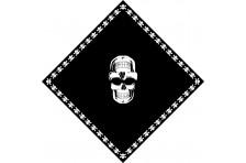 Бандана пиратская. Вариант-04
