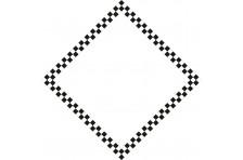 Бандана флаг ФИНИШ. Вариант-3