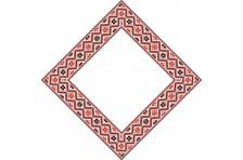 Бандана с украинской символикой. Дизайн-07