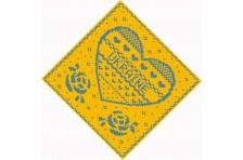 Бандана с украинской символикой. Дизайн-04
