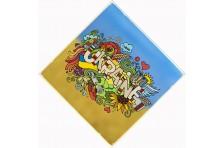 Бандана с украинской символикой. Дизайн-05
