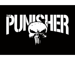 Баннер, плакат Punisher (рус. Каратель). Вариант-02.