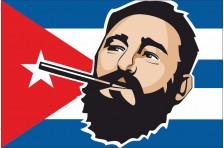 Баннер, плакат «Фидель Кастро». Вариант-1