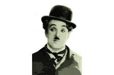 Баннер, плакат «Чарли Чаплин». Вариант-01