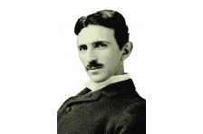 Баннер, плакат «Никола Тесла»