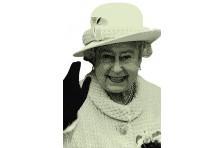 Баннер, плакат «Елизавета II»