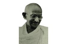 Баннер, плакат «Махатма Ганди»