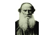Баннер, плакат «Лев Толстой»