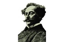 Баннер, плакат «Александр Дюма»