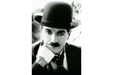 Баннер, плакат «Чарли Чаплин». Вариант-02