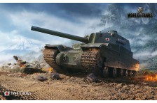 Баннер, плакат, постер «World of Tanks», TYPE 5 HEAVY