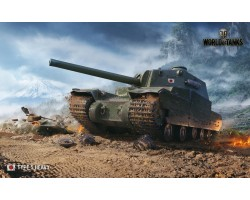 Баннер, плакат, постер «World of Tanks», TYPE 5 HEAVY