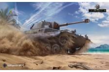 Баннер, плакат, постер «World of Tanks», Spähpanzer SP I C