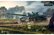 Баннер, плакат, постер «World of Tanks», AMX 30 B