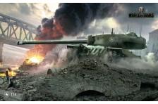 Баннер, плакат, постер «World of Tanks», T-34. Вариант-01