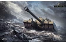 Баннер, плакат, постер «World of Tanks», T-95. Вариант-01