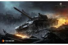 Баннер, плакат, постер «World of Tanks», T-55A NVA DDR