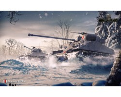Баннер, плакат, постер «World of Tanks», Sherman Firefly