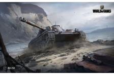 Баннер, плакат, постер «World of Tanks», RU 251