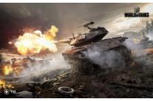 Баннер, плакат, постер «World of Tanks», T-49