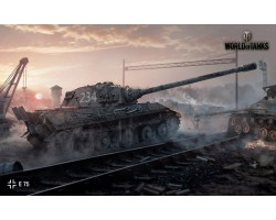 Баннер, плакат, постер «World of Tanks», E-75