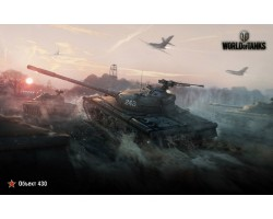 Баннер, плакат, постер «World of Tanks», Объект-430