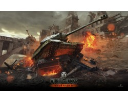 Баннер, плакат, постер «World of Tanks». Вариант-01