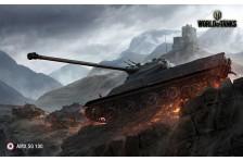 Баннер, плакат, постер «World of Tanks», AMX 50 100