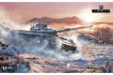 Баннер, плакат, постер «World of Tanks», STB-1
