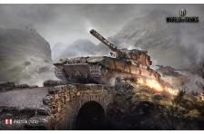 Баннер, плакат, постер «World of Tanks», FV215b (183)
