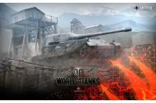 Баннер, плакат, постер «World of Tanks», VK7201
