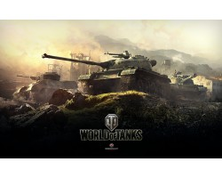 Баннер, плакат, постер «World of Tanks». Вариант-02