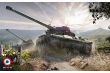 Баннер, плакат, постер «World of Tanks», AMX 13 90