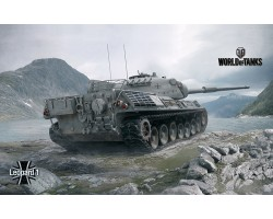 Баннер, плакат, постер «World of Tanks», Leopard1