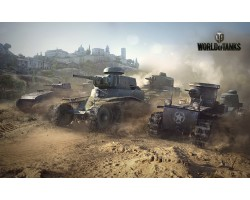 Баннер, плакат, постер «World of Tanks». Вариант-07