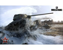 Баннер, плакат, постер «World of Tanks», T-50-2