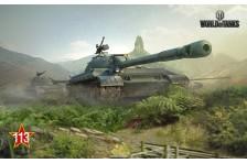 Баннер, плакат, постер «World of Tanks», 113