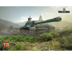 Баннер, плакат, постер «World of Tanks», 113