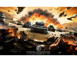 Баннер, плакат, постер «World of Tanks». Вариант-08