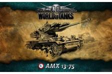 Баннер, плакат, постер «World of Tanks», AMX 13-75