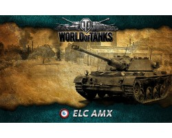 Баннер, плакат, постер «World of Tanks», ELC AMX
