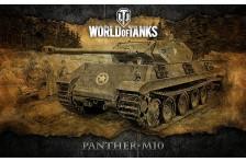 Баннер, плакат, постер «World of Tanks», PANTHER-M10